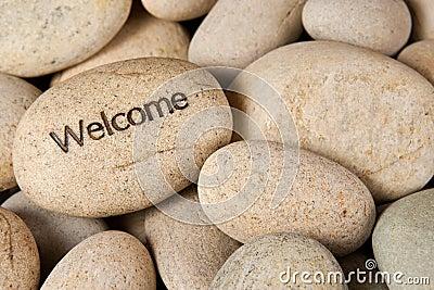 Välkommen sten