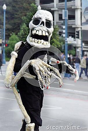Vänligt skelett
