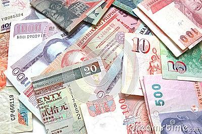 Värld för 4 valuta
