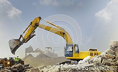 Véhicules de construction