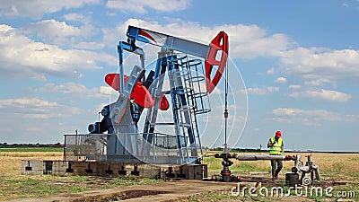 Vérification de la pompe à huile banque de vidéos