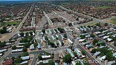 Vídeo aéreo de Albuquerque filme