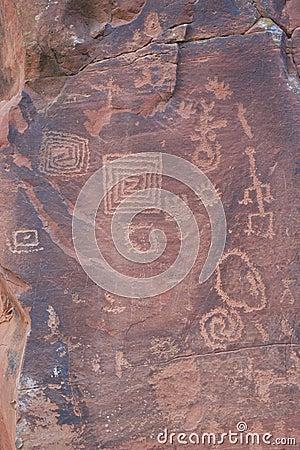 V Bar V Heritage Site Petroglyphs