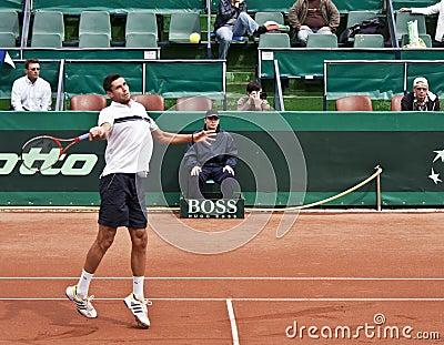 V. Hanescu vs S.Stakhovsky Editorial Photo