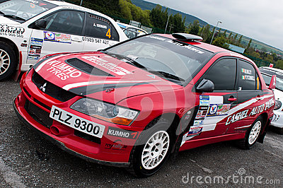 V. Mcaree Mitsubishi Evo Editorial Photo