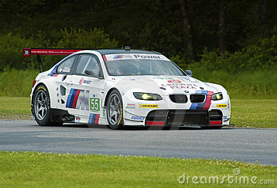 V8 BMW race car Editorial Stock Image