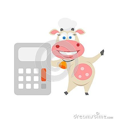 Vaca de la calculadora