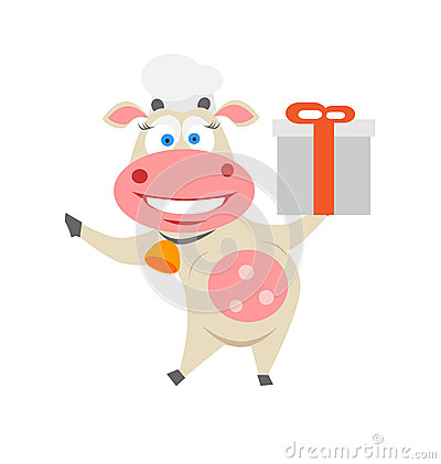 Vaca del regalo