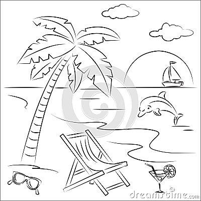 Vacaciones de la playa