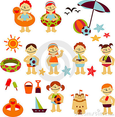 Free Vacaciones Stickers Stock Image - 8319891