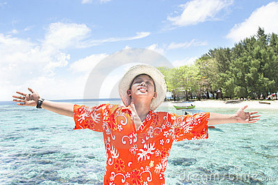 Vacances tropicales d île