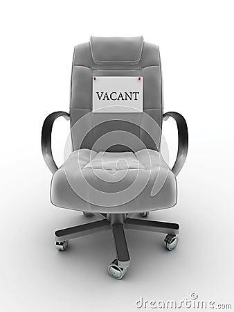 Vacant seat