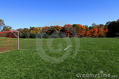 Vacant Soccer Field