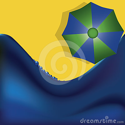 Vacation abstract background