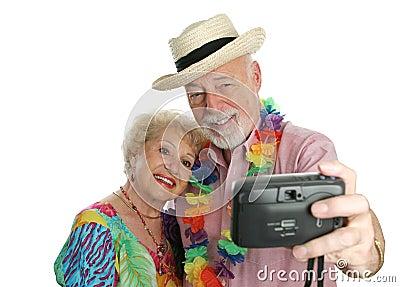 Vacation Couple Self-Portrait