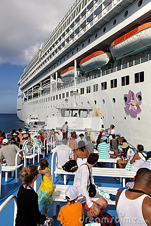 Vacation Cruise Editorial Stock Image