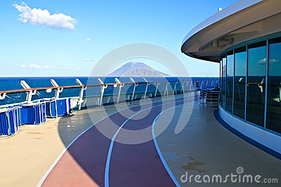 Vacation in Europe with cruise liner