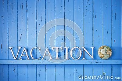Vacation Globe Travel Background