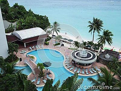 Vacation in Guam Editorial Photo