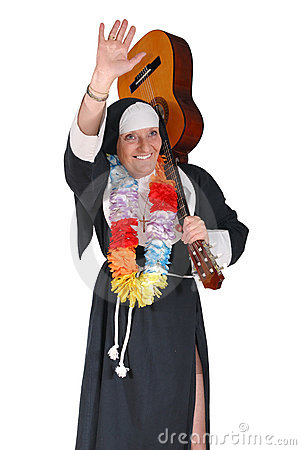 Vacation nun, sister
