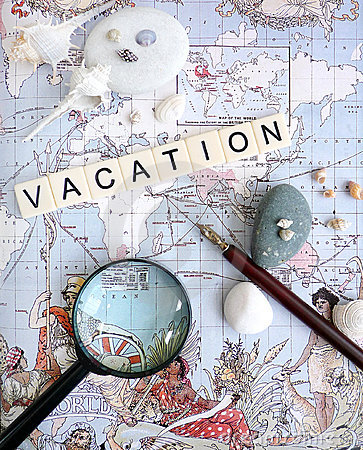 Free Vacation Planning Concept Stock Images - 14130634