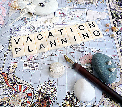 Vacation planning concept