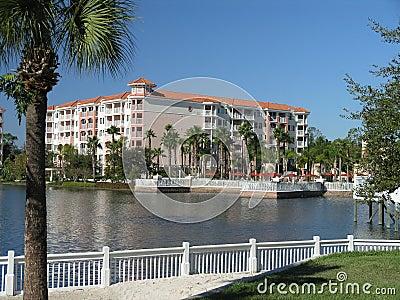 Vacation Resort Buildings Beach & Lake 1