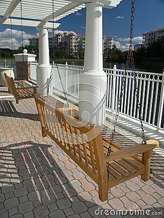 Vacation Resort swing & Trellis 1