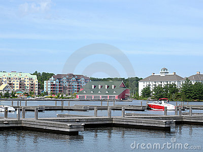 Vacation resorts at Lake Muskoka