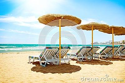 Vacation in Spain. Mediterranean Sea