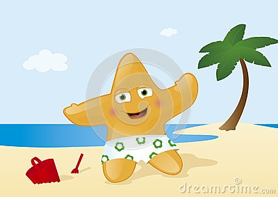 Vacation at Tropical Summer Beach