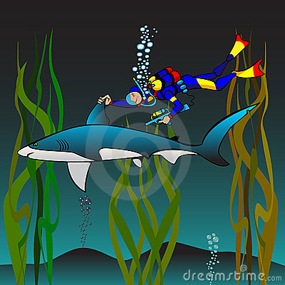 Vaccination of a shark
