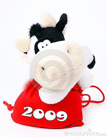 Vache à 2009 sacs