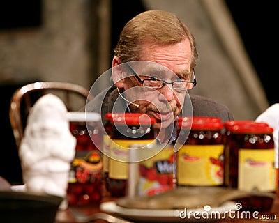 Vaclav Havel Editorial Image
