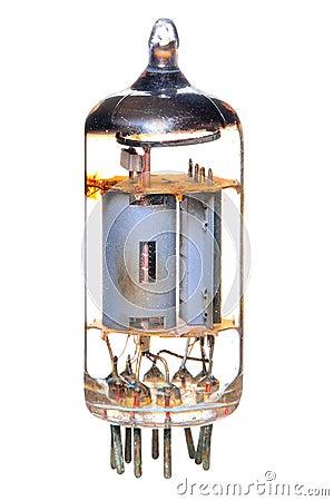 Vacuum tube 1950-60 s radio & television component