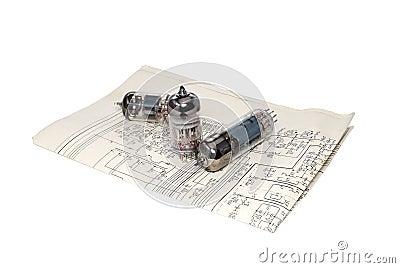 Vacuum tube - scheme