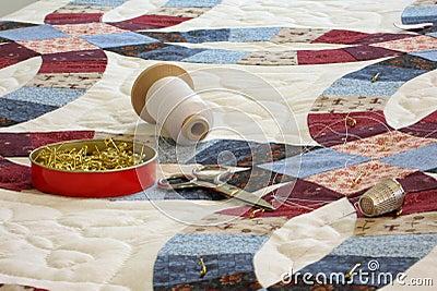 Vaddera hjälpmedel för täcke