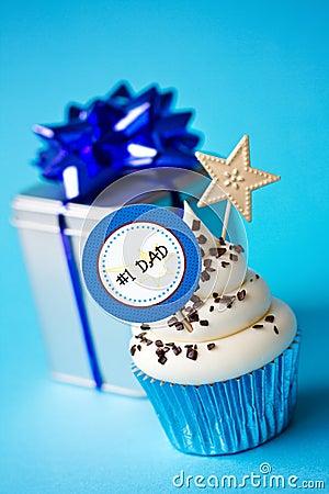 Vaderdag cupcake
