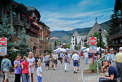 Vail, Colorado Editorial Stock Photo