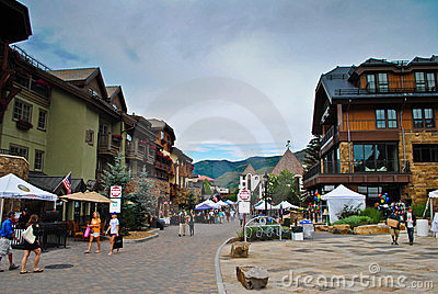 Vail, Colorado Editorial Image