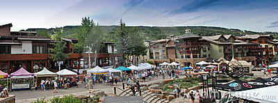 Vail, Colorado Editorial Photography