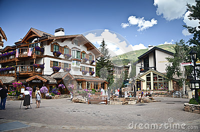 Vail, Colorado Editorial Stock Image