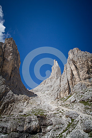 Vajolet towers, Dolomites