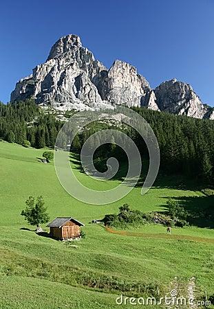 Val Badia Dolomites Sassongher Mountain