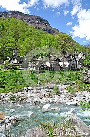 Val Bavona,Ticino,Lake Maggiore,Switzerland