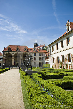 Free Valdstejn Palace In Prague Royalty Free Stock Photography - 9573717