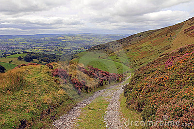 The Vale of Clwyd and Offas Dyke Flint Wales