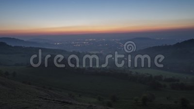 Vale de Gloucester em Cotswold Reino Unido filme