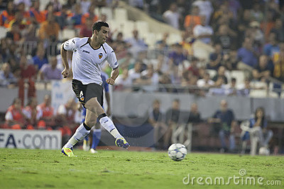 Valencia CF vs Chelsea Editorial Stock Photo