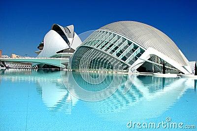 Valencia, City of arts Editorial Image